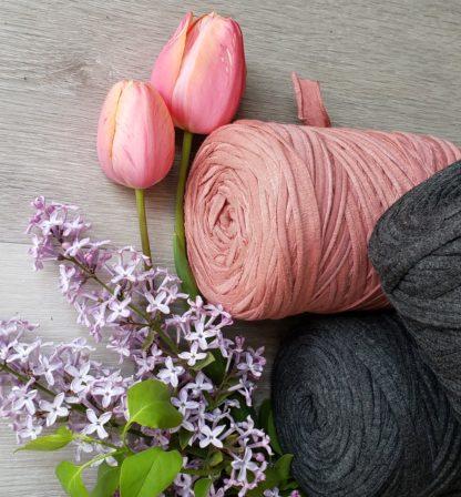 T-shirt yarn for crafts macrame weaving