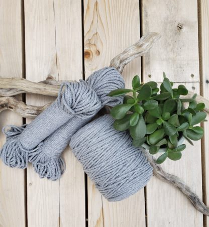 Recycled cotton rope cord for macrame