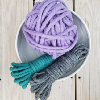 Felted Wool Rope