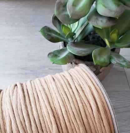 Wheat premium cotton string for macrame