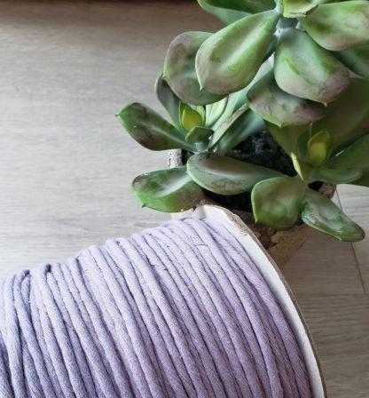 Lavender premium cotton string for macrame
