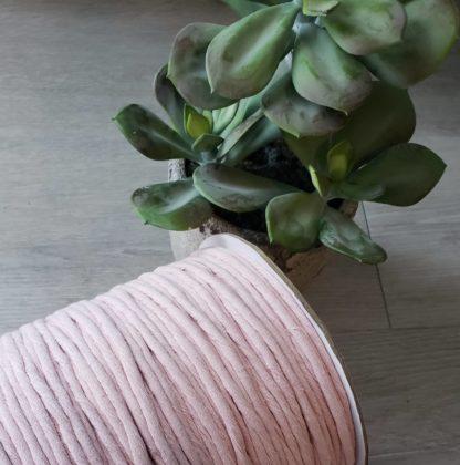 Baby Pink premium cotton string for macrame