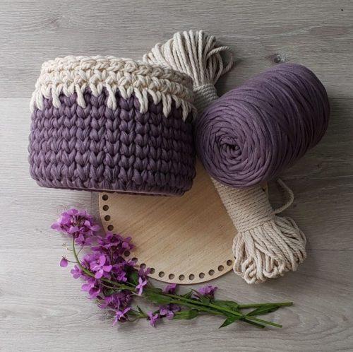 Crochet knit stitch