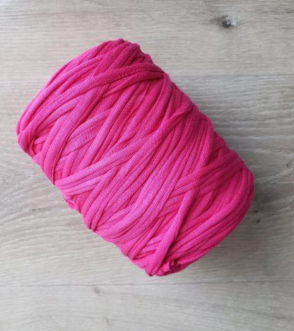 Hot pink t-shirt yarn