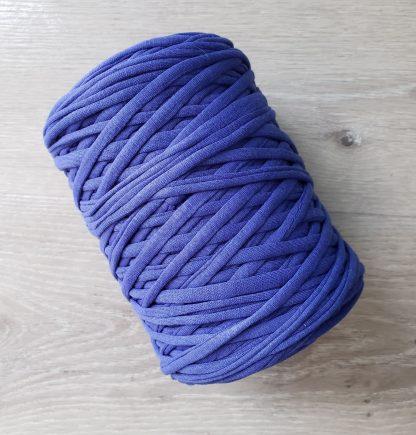 Royal blue t-shirt yarn