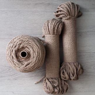 Linen recycled cotton rope