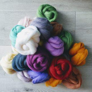 Wool Roving - 30 grams