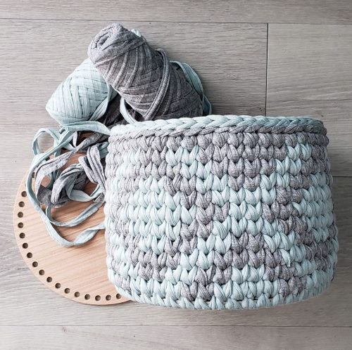 Tapestry Crochet Basket Pattern