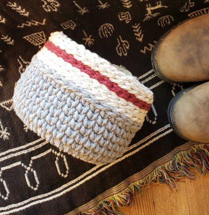 Cabin Crochet basket