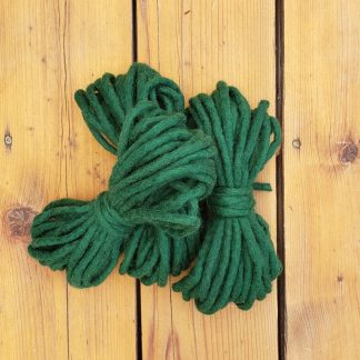 Emerald Green wool rope