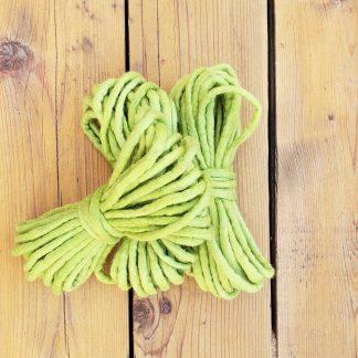 Green apple wool rope