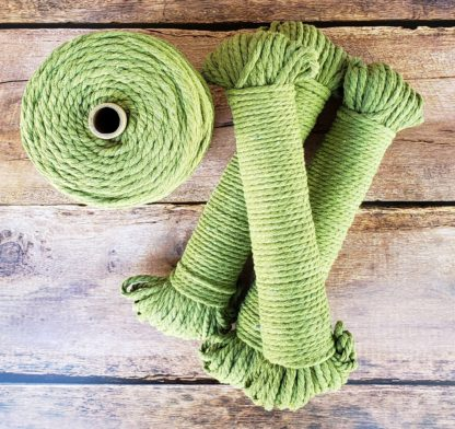 Light Green recycled cotton rope