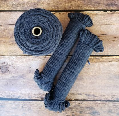 Navy recycled cotton rope