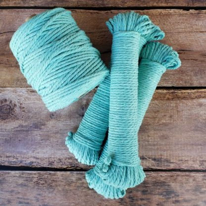 Turquoise rope for macrame
