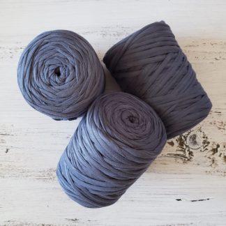 Purple t-shirt yarn