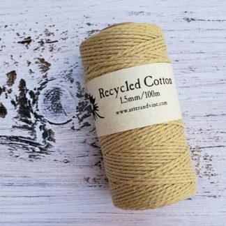 beige 1.5mm cotton rope