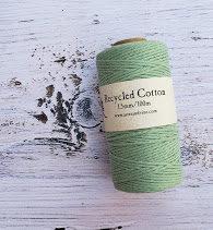 light mint 1.5mm cotton rope