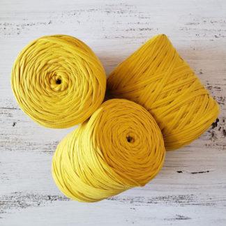 Light Mustard tshirt yarn