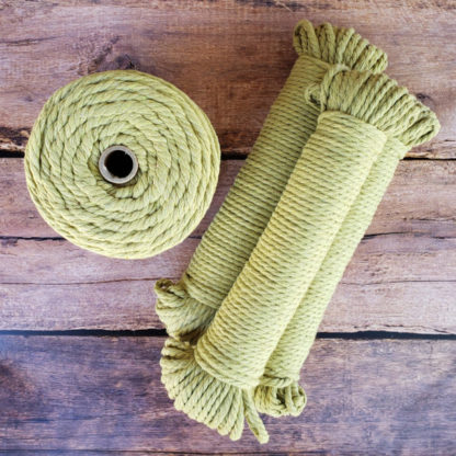 Sage recycled cotton rope