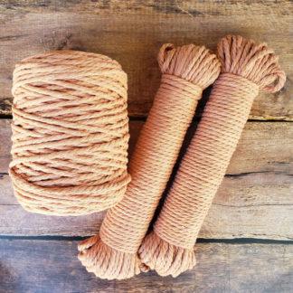 Terracotta macrame cord