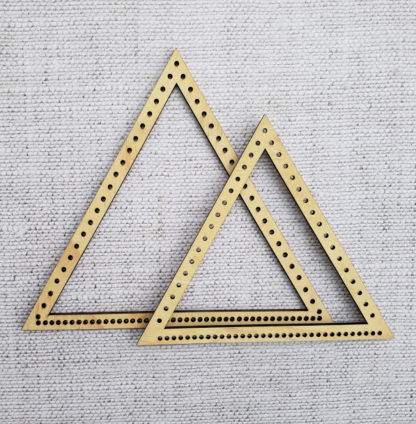 2 triangle looms