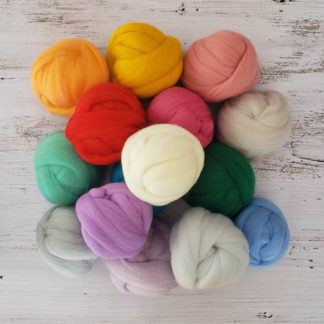 Wool Roving - 100 grams