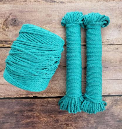 aquamarine macrame rope
