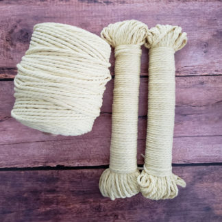 4mm cotton rope for macrame