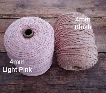 light pink and blush