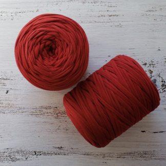 rust tshirt yarn