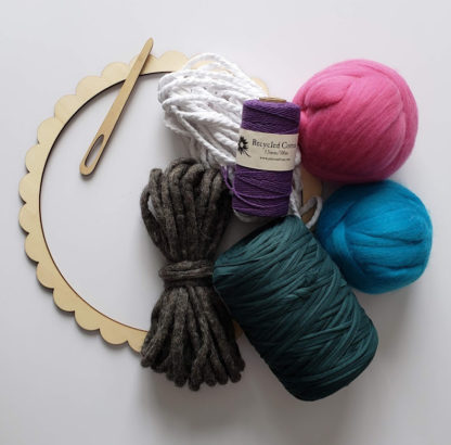 circular weaving loom