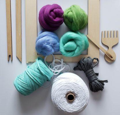 rectangular lap loom