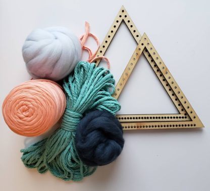 Set of 2 triangle looms