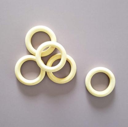 medium wood ring