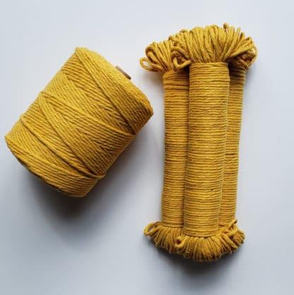 3mm mustard rope