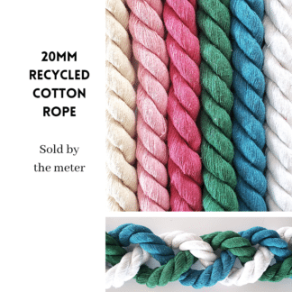 20mm Recycled Cotton Rope