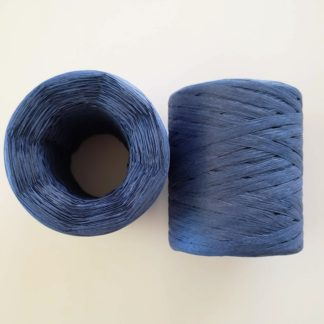 dark blue raffia