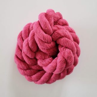 20mm dark pink rope