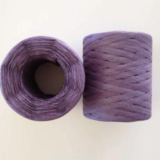 dark purple raffia