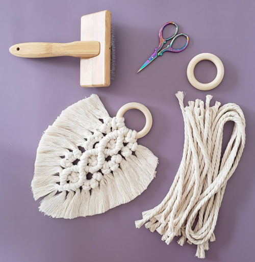 Macrame feather instructions