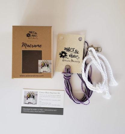 colourblock keychain kit