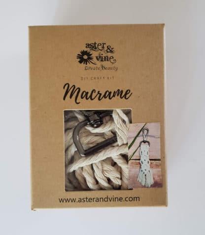 macrame keychain kit