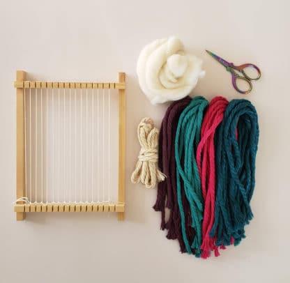 diy weave your own rainbow kit